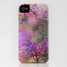 Sky dreams. Serial. Warm pink Slim Case iPhone (4, 4s)