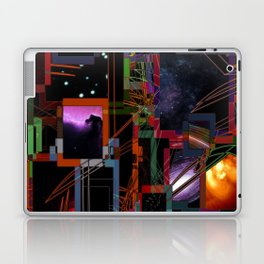 Hyperspace jump console Laptop & iPad Skin