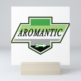 Identity Stamp: Aromantic Mini Art Print