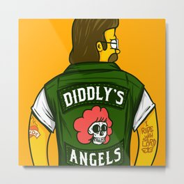 Diddly's Angels Metal Print
