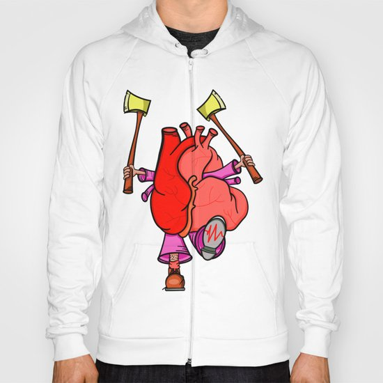 Heart Attack Hoody