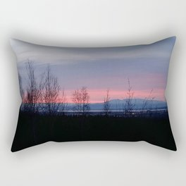 Glowing Sleeping Lady Rectangular Pillow