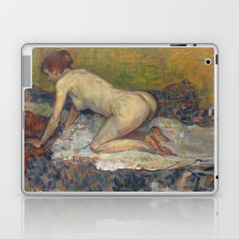 """Henri de Toulouse-Lautrec """"Crouching Woman with Red Hair"""" Laptop & iPad Skin"""