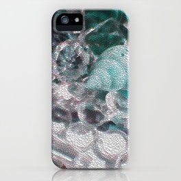 Blue romance of the shiny ones iPhone Case