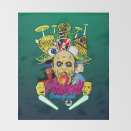 Pinball, Game of skill Throw Blanket