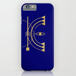 Sacred Geometry Letter K iPhone Case