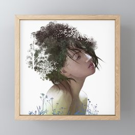 Natural Hair Framed Mini Art Print