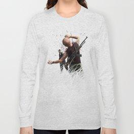The Killer Wears Overalls Long Sleeve T-shirt