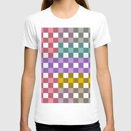 Colorful Checker 01 T-shirt