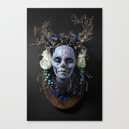 Winter Muertita Front Canvas Print