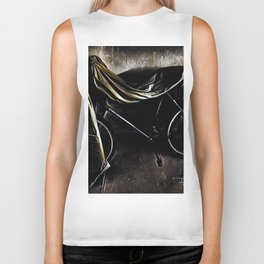 Get On Your Bike And Ride - Graphic 3 Biker Tank