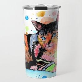 Cat 648 Travel Mug