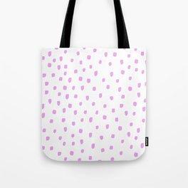 DOTTY PINK Tote Bag
