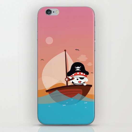 lAND AHOY iPhone & iPod Skin