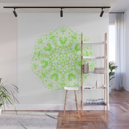 Magic Seven Mandala eden spirit green Wall Mural