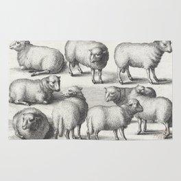 Dutch Masters | Sheep Engraving Rug