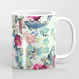 Beautiful victorian rose pattern in vintage style Coffee Mug