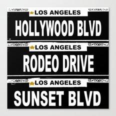 Los Angeles California Canvas Print