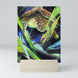 Honu 'Aumākua Mini Art Print