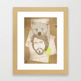 mr.bear-d Framed Art Print
