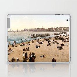 The harbour, Margate, Kent, England, ca. 1897 Laptop & iPad Skin