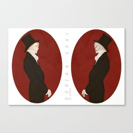 Dorian Gray (Scarlet)  Canvas Print