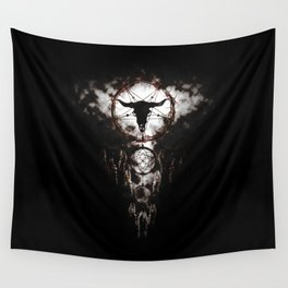 Dreamcatcher - Pentagram Wall Tapestry