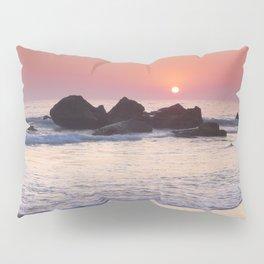 Encendida Beach At Sunset. Sancti Petri. Pillow Sham