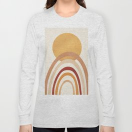 The Sun and a Rainbow II Long Sleeve T-shirt