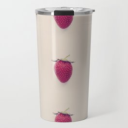 Strawberry Beret Travel Mug