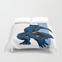 beast Duvet Covers featuring Beast by Andrew Formosa