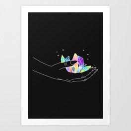 Artificial Love - Illustration Art Print