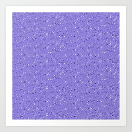 Lilac rubber flooring Art Print