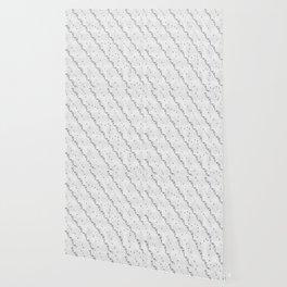 White Ribbon Wallpaper
