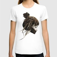 hair T-shirts featuring This City by Ruben Ireland