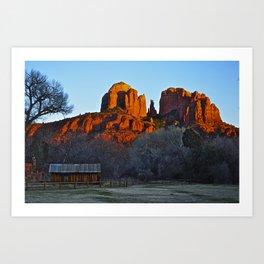 Red Rock AZ Art Print