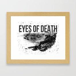 Eyes of Death Scene Framed Art Print