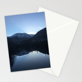 Evening reflection over the Loch Stationery Cards