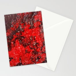Red Cavern Stationery Cards