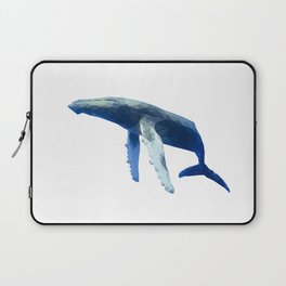 Geometric Humpback Whale Laptop Sleeve