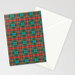 Minimalist Macbeth Tartan Ancient Stationery Cards