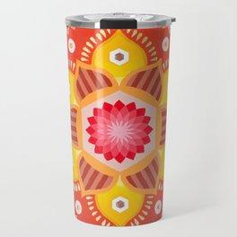 Cinnamon Flower Travel Mug