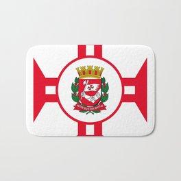 Flag of Sao Paolo -  Non ducor, duco Bath Mat