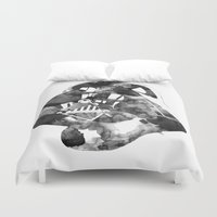 vader Duvet Covers featuring Vader by DanielBergerDesign