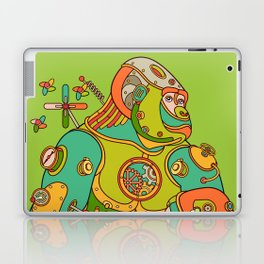 Gorilla, cool wall art for kids and adults alike Laptop & iPad Skin
