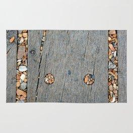 Beach Pebble Abstract Rug