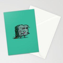 Moldy Sandwich Bot Stationery Cards