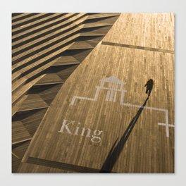 Golden King Canvas Print
