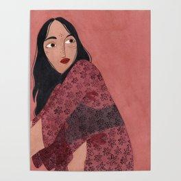 Transparent Kimono Poster