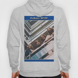 1967 - 1970 The Blue Album by The Fab Four Hoody
